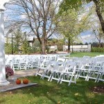 Farmington Gardens can accommodate any layout on our beautiful lush grounds.